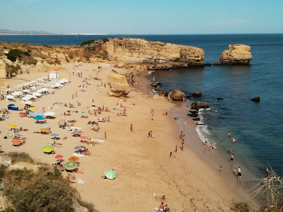 Пляж Сан Рафаэль, Португалия