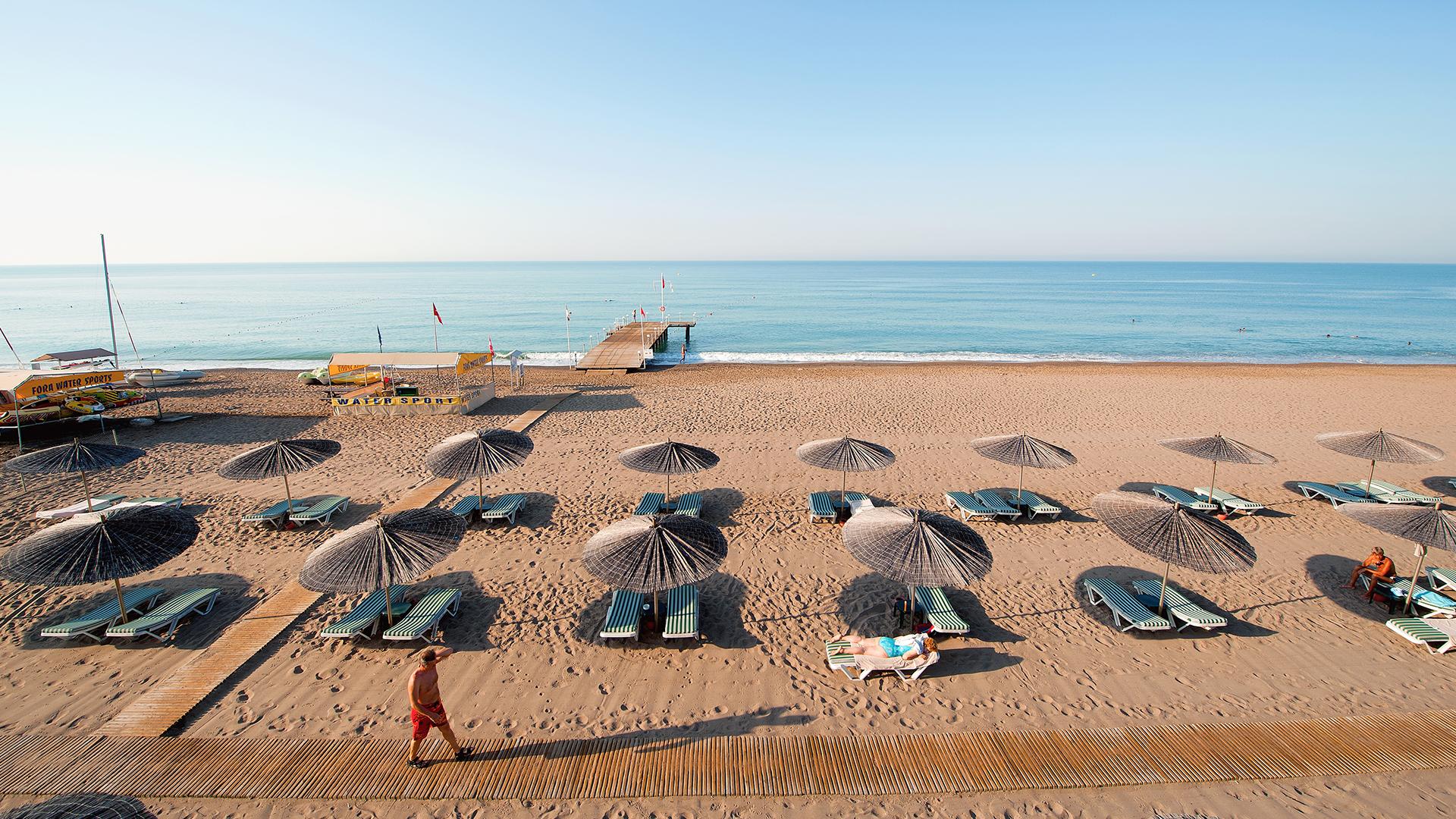 Пляж в Белек