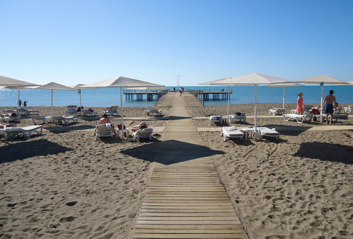Пляж при отеле Sentido Zeynep