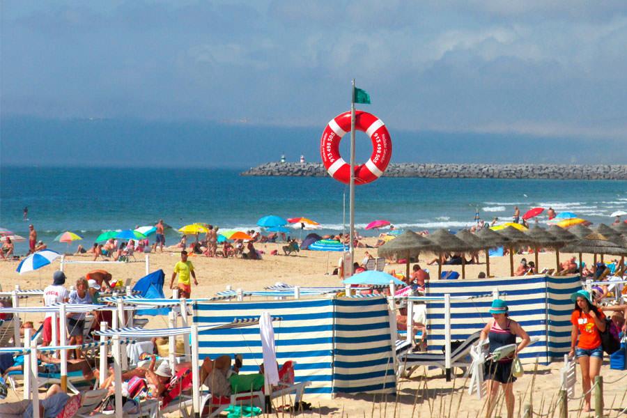 Пляж Praia de Alvor