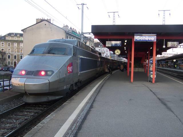 Поезд в Лозанну