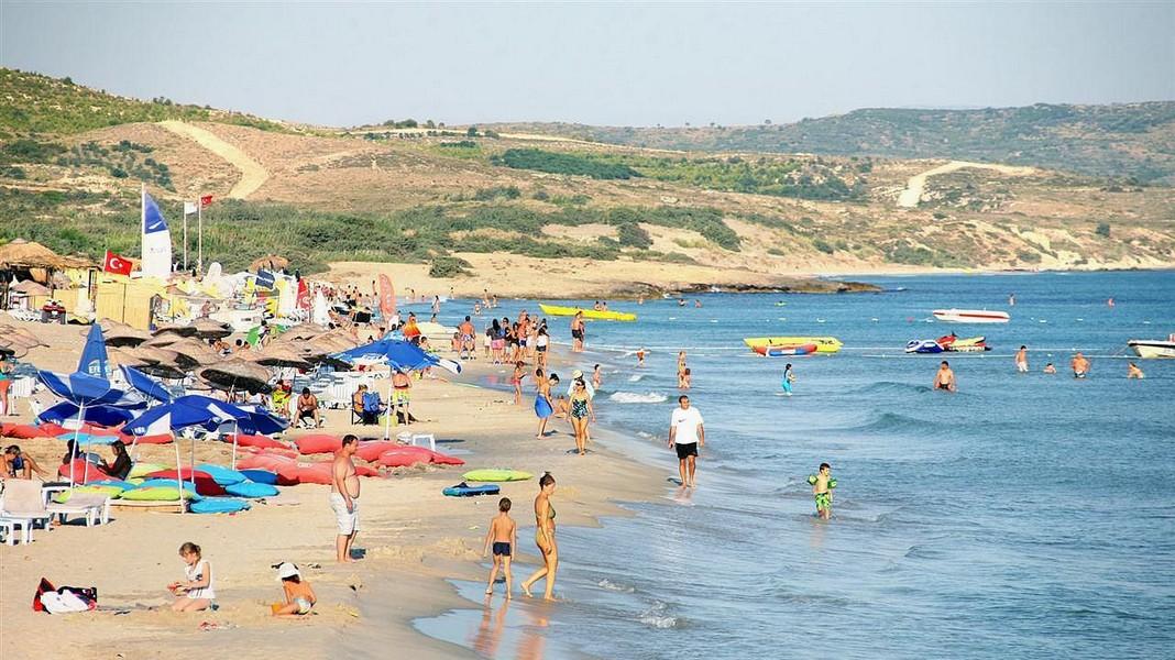 Пляж Алтынкум