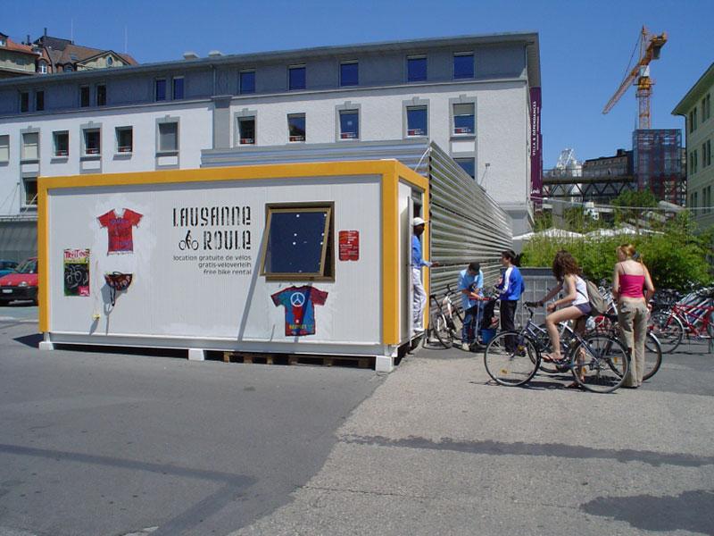 Прокат велосипедов Lausanne Roule