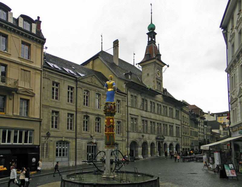 Ратуша Town Hall of Lausanne