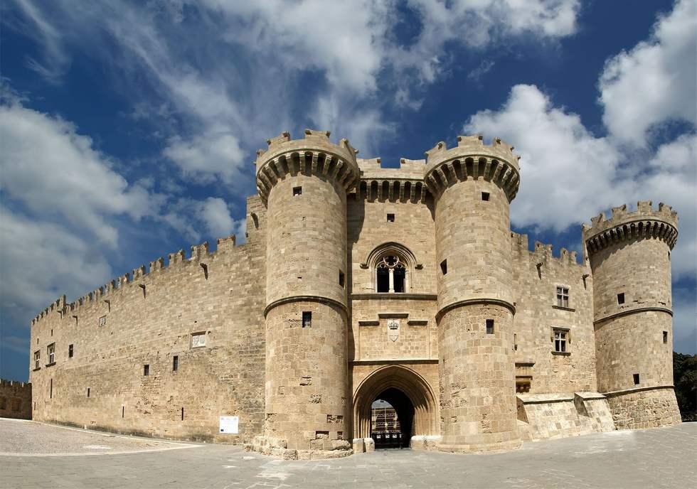 Крепость в городе Родос