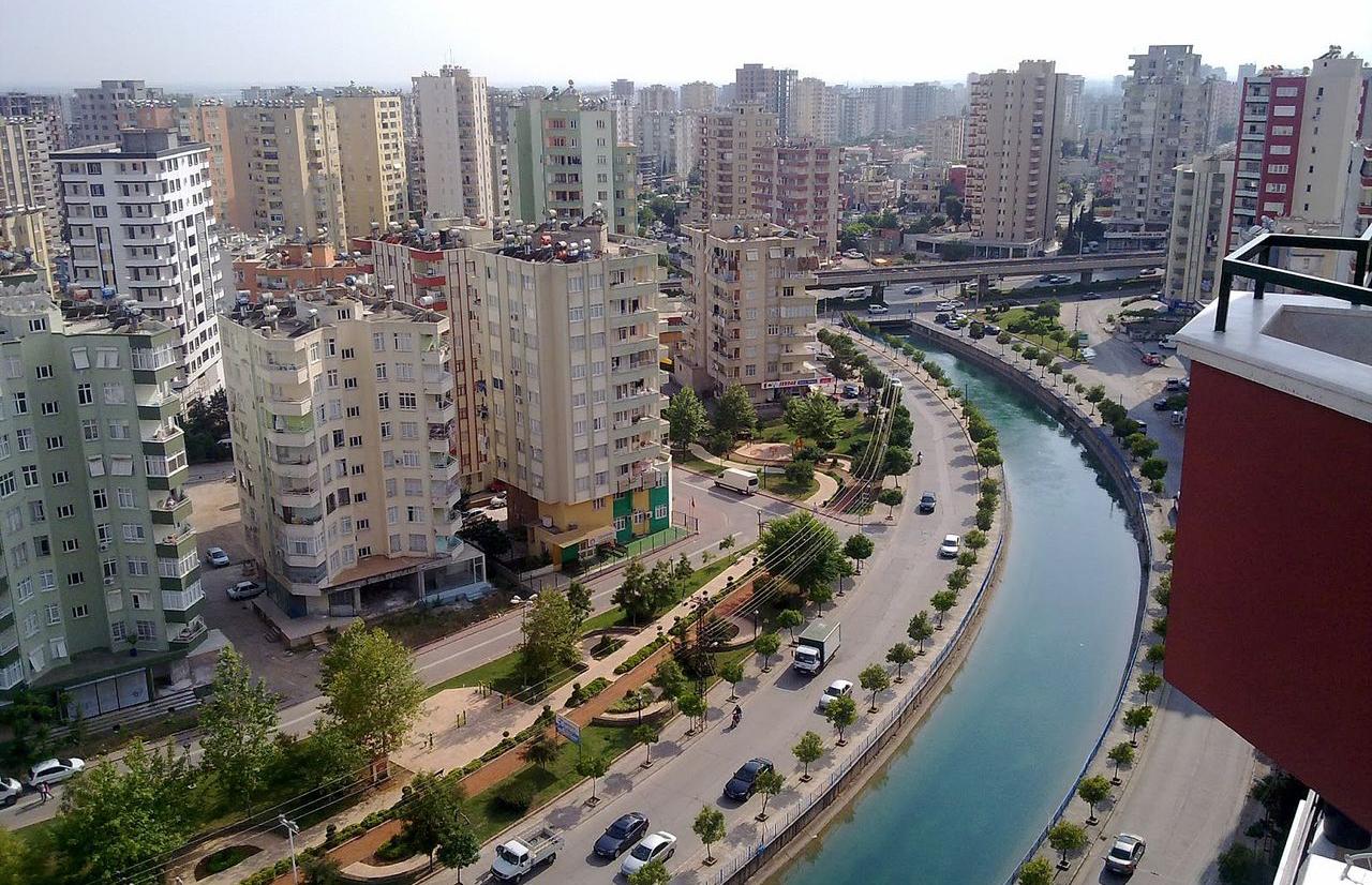 Современная часть города Адана