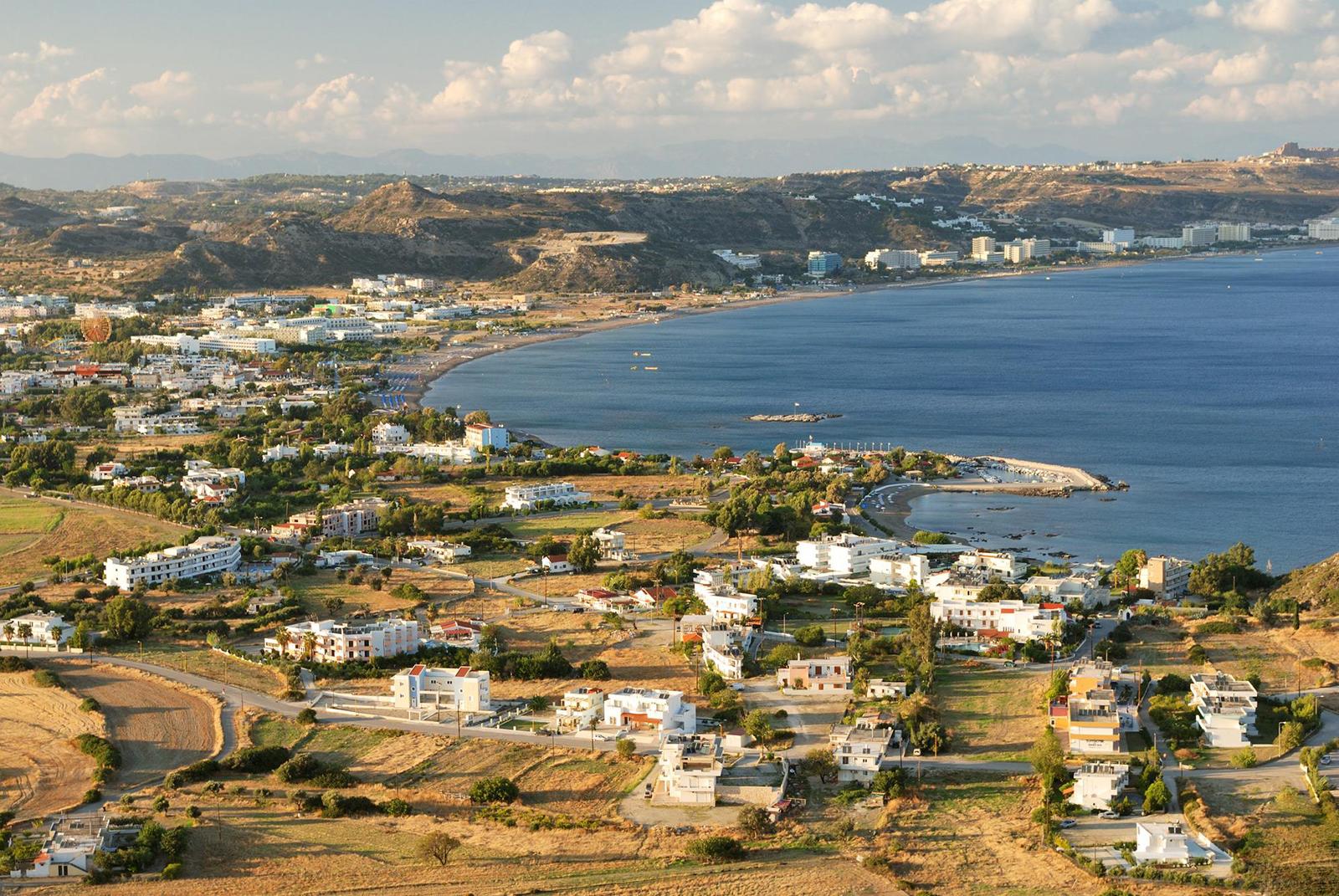Фалираки, Родос