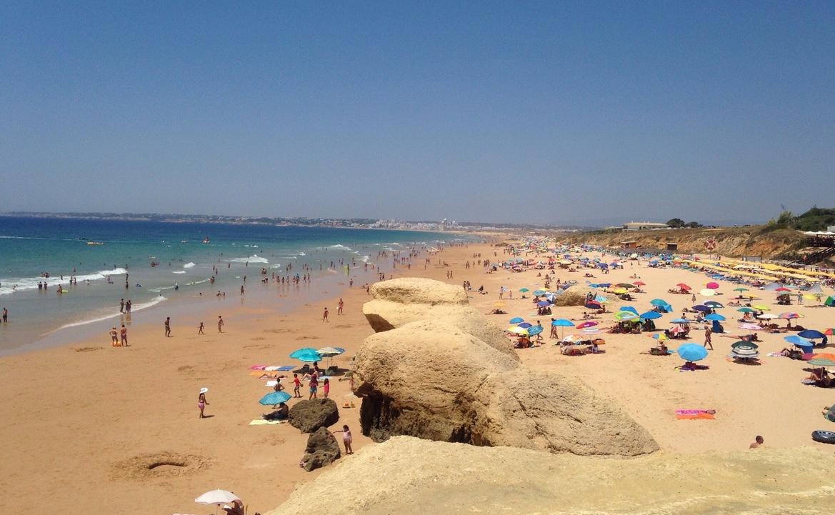 Пляж Praia Gale