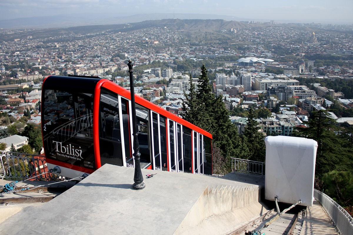 Фуникулер в Тбилиси