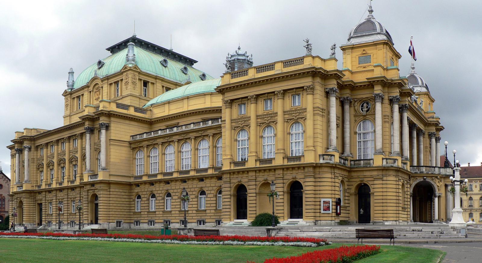 Хорватский национальный театр, Загреб