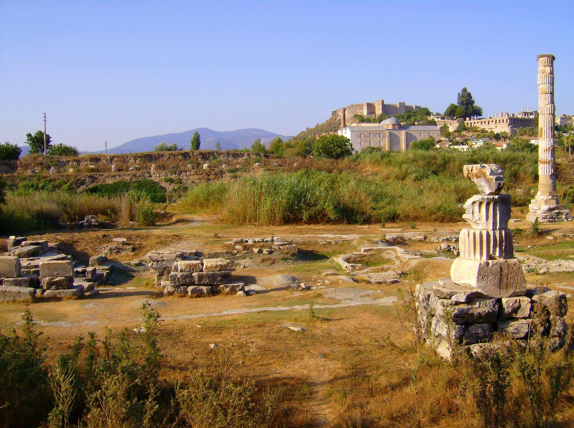 Храм Артемиды, Эфес