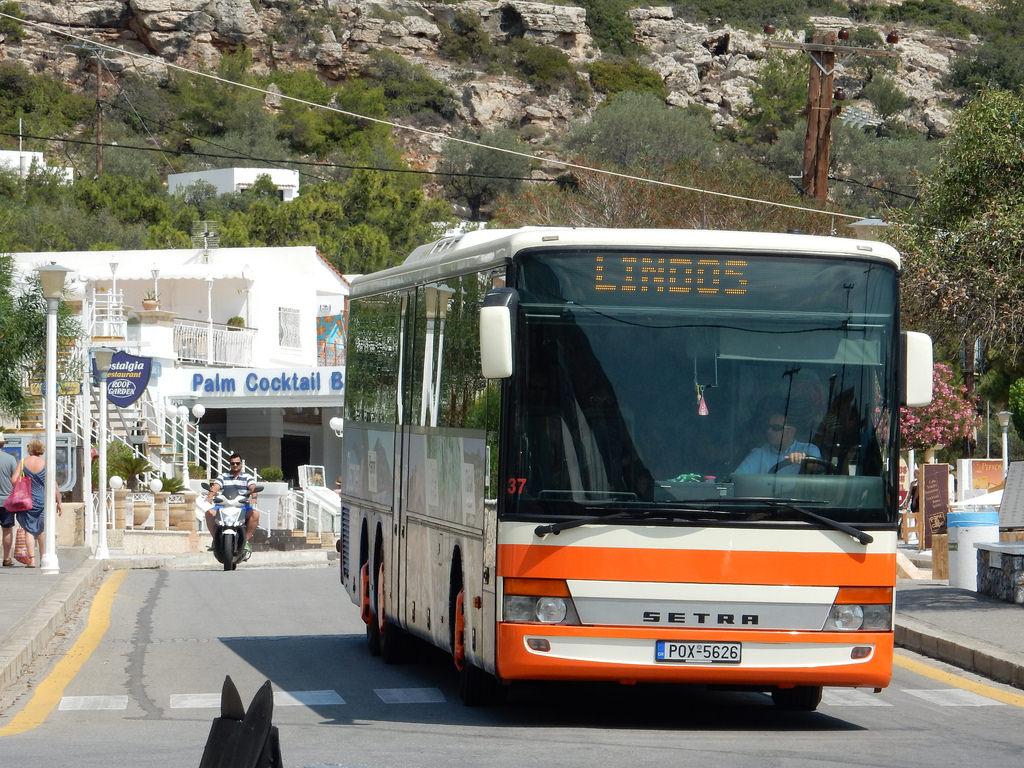 Автобус Родос-Линдос