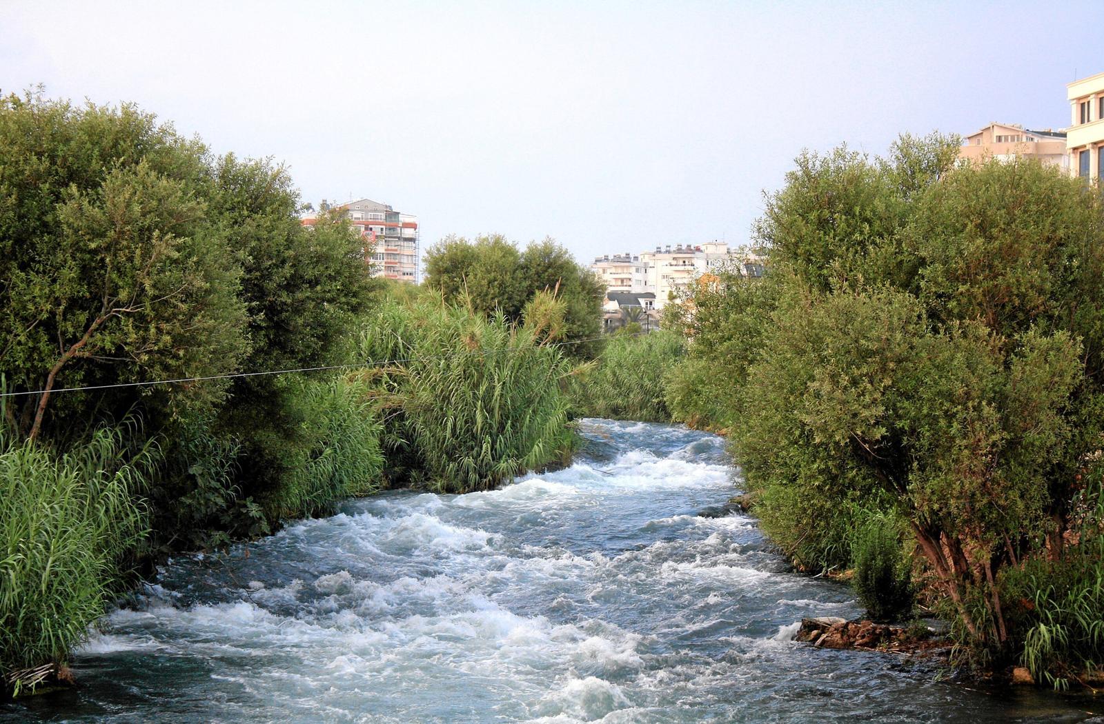 Основное русло реки Дюден