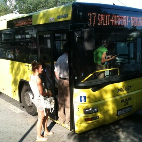 Автобусы №37 из Сплита