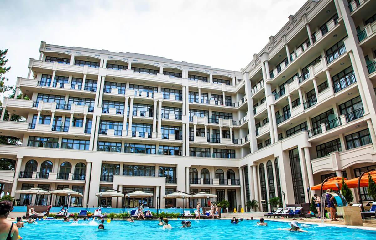 Отель Kobuleti Georgia Palace Hotel & Spa