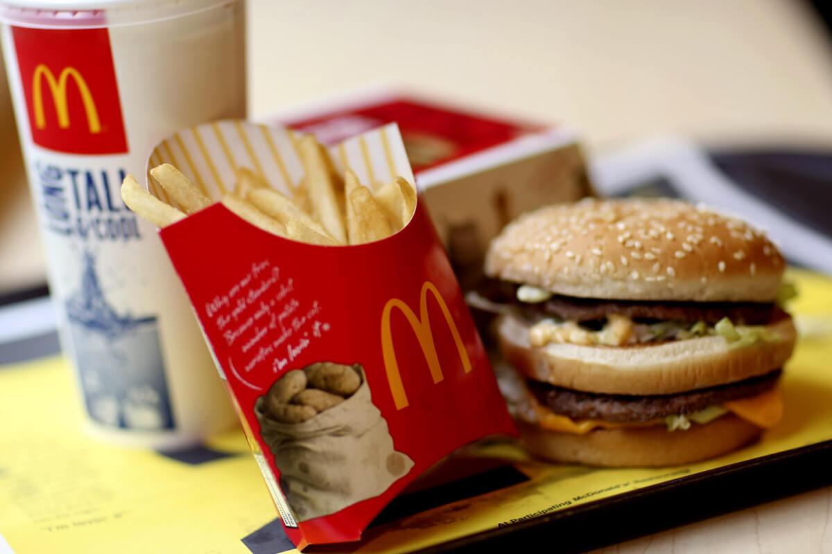 Можно перекусить в McDonald's
