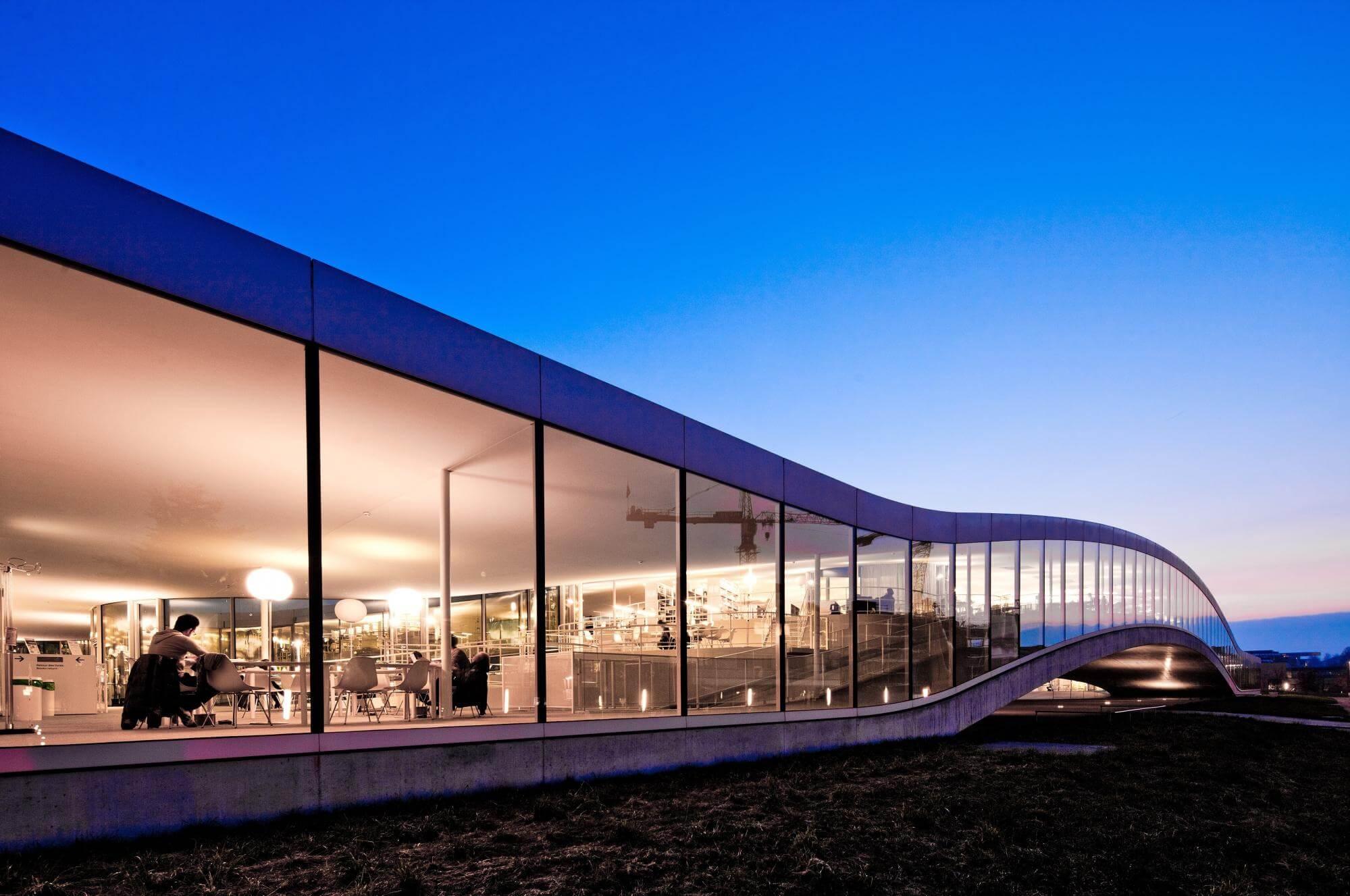 Учебный центр Rolex Learning Center EPFL