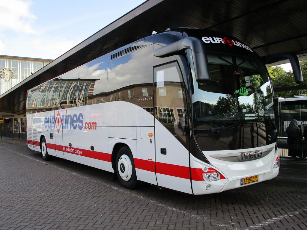 Автобус Eurolines до Гааги