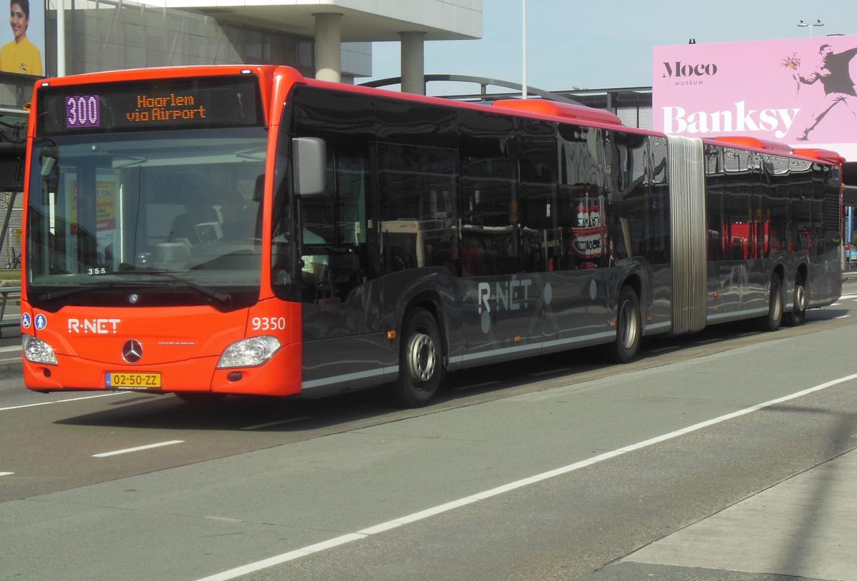 Автобус №300 из аэропорта Схипхол