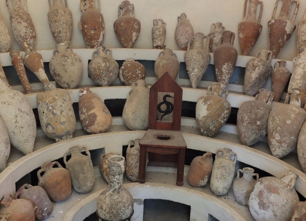 Амфоры в Бодрумском музее