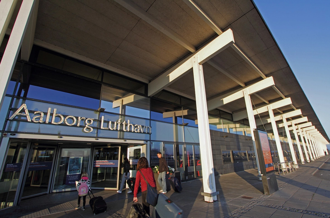 Аэропорт Ольборг, центральный вход