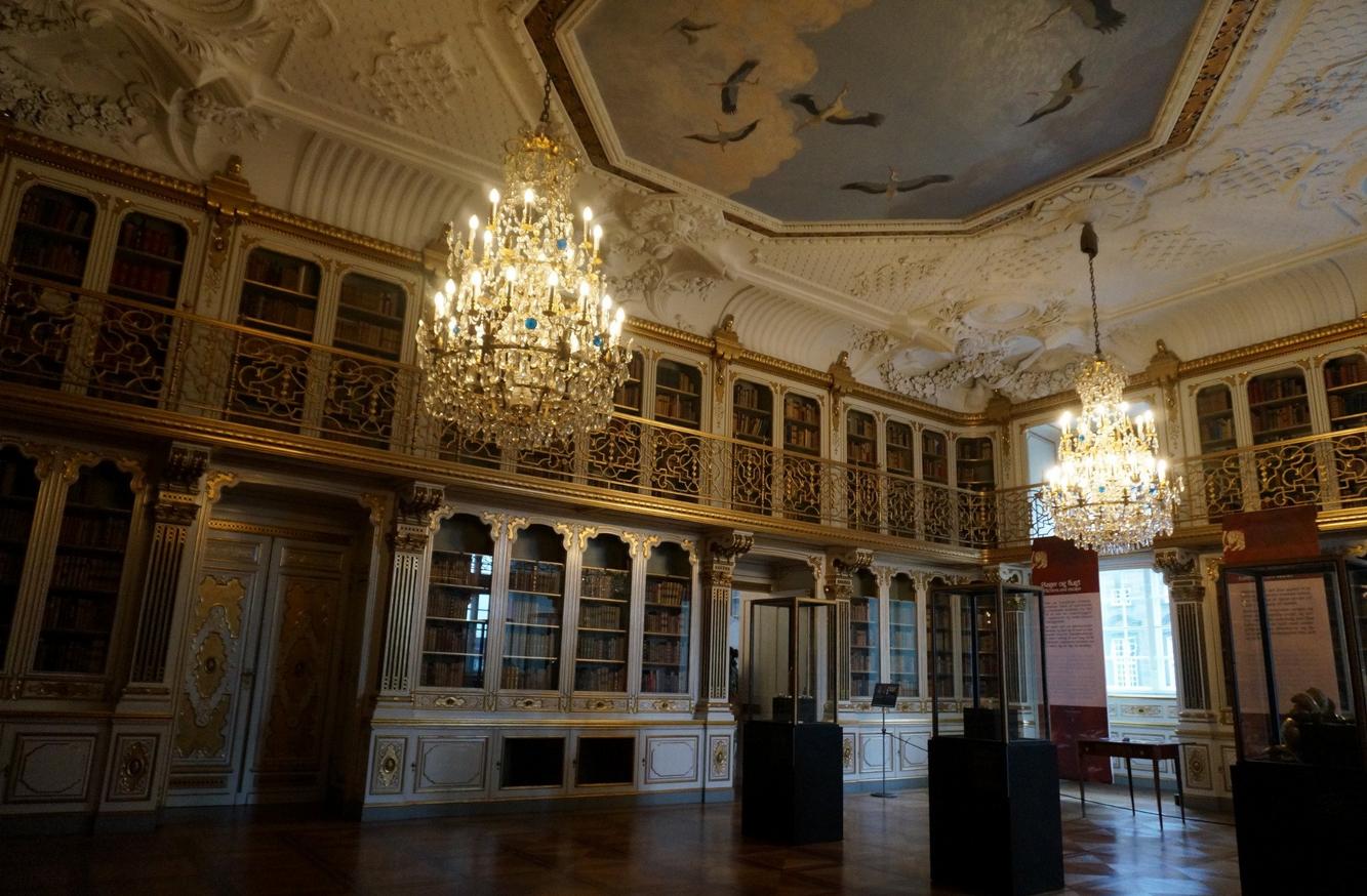Библиотека в дворце Кристиансборг