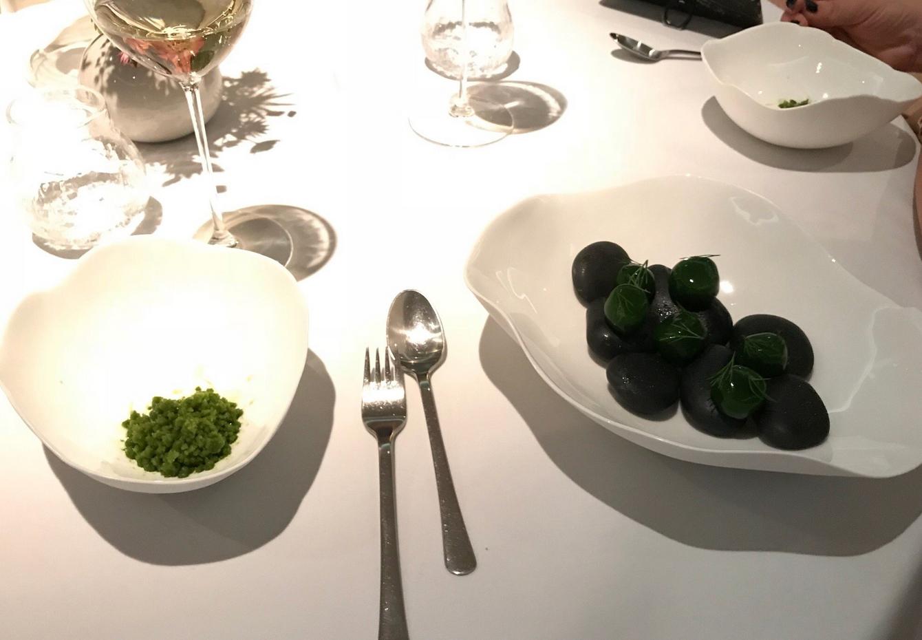 Блюда в ресторане Geranium
