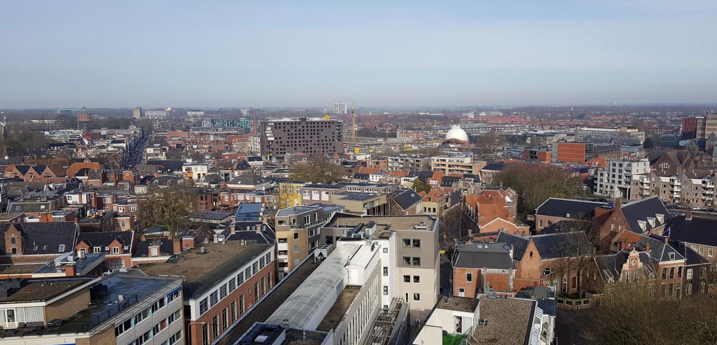 Вид с башни Martinitoren