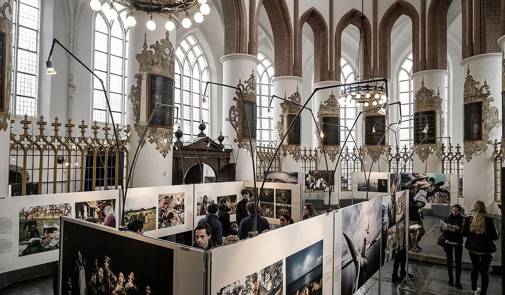 Выставка в церкви Der Aa-kerk
