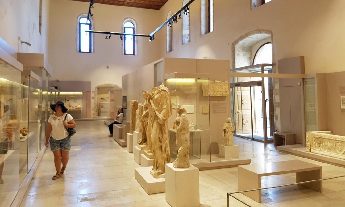 В Археологическом музее Ретимно