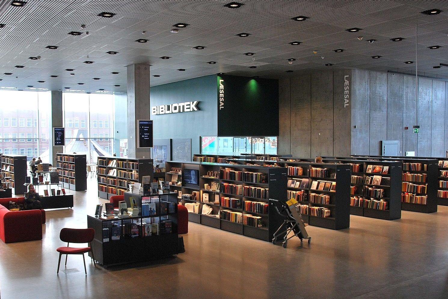 В библиотеке Dokk1