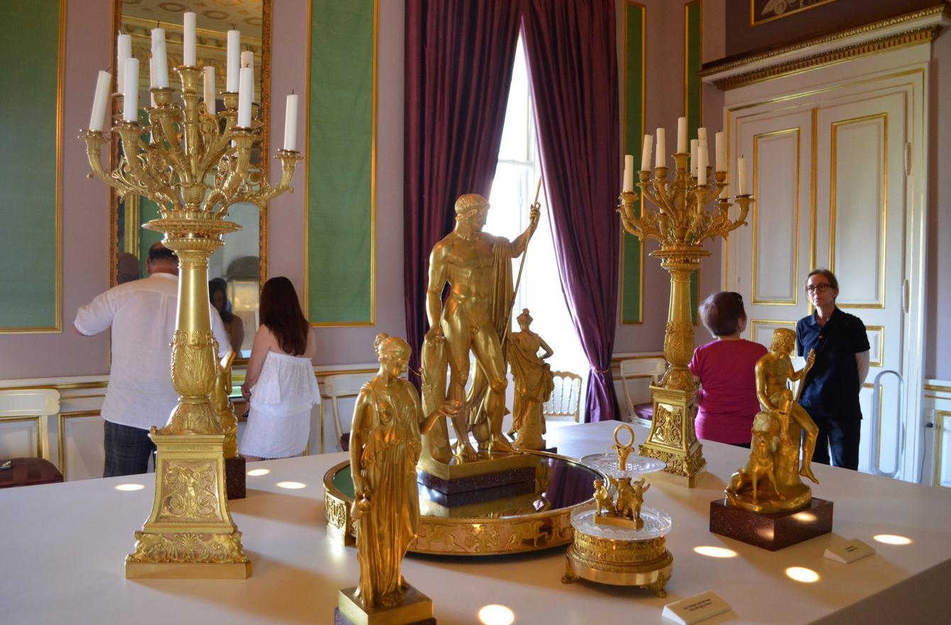 В королевском дворце Амалиенборг