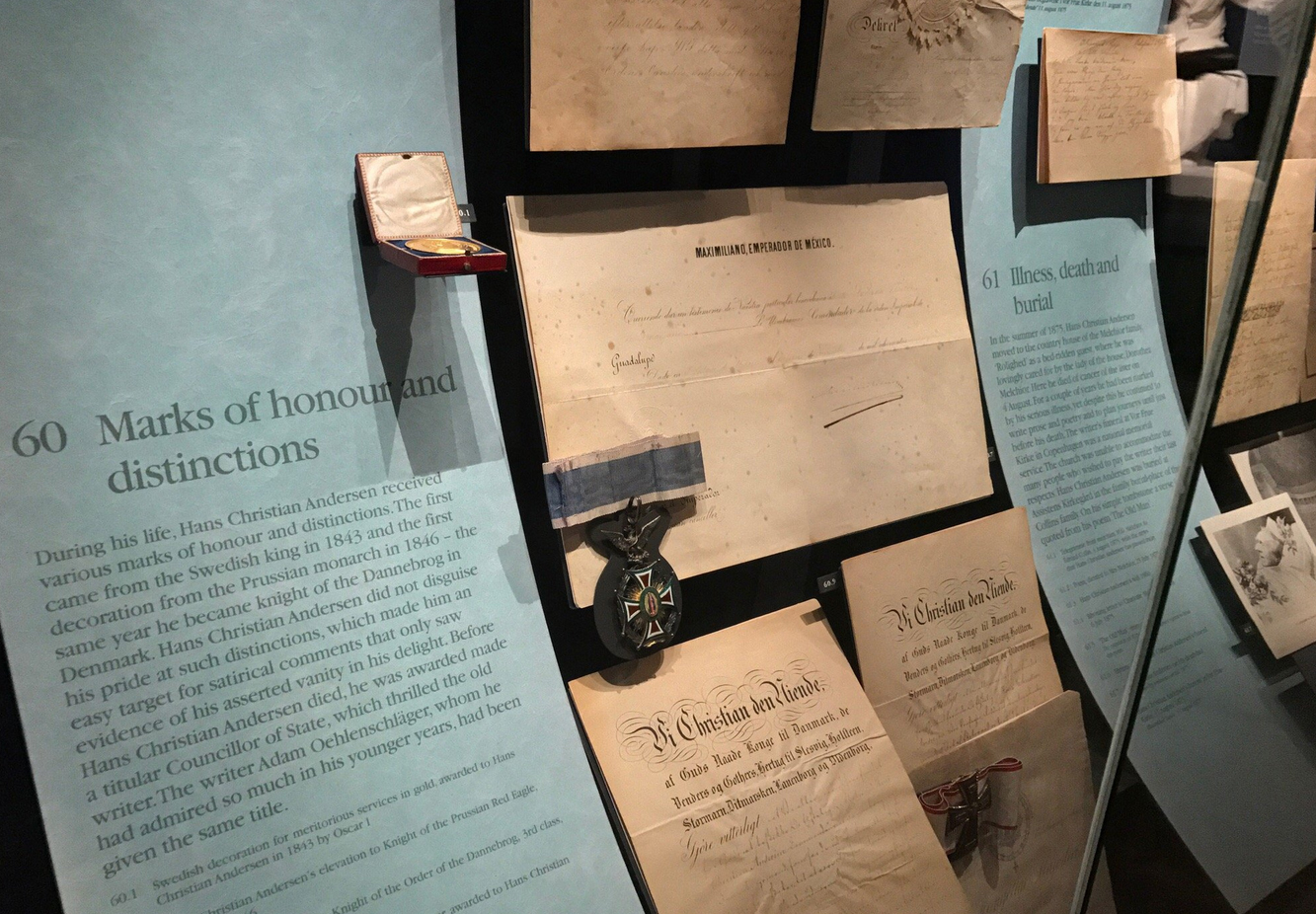 В музее Ганса Христиана Андерсена