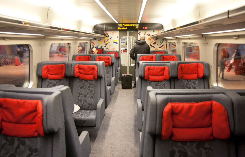 В поезде до Оденсе