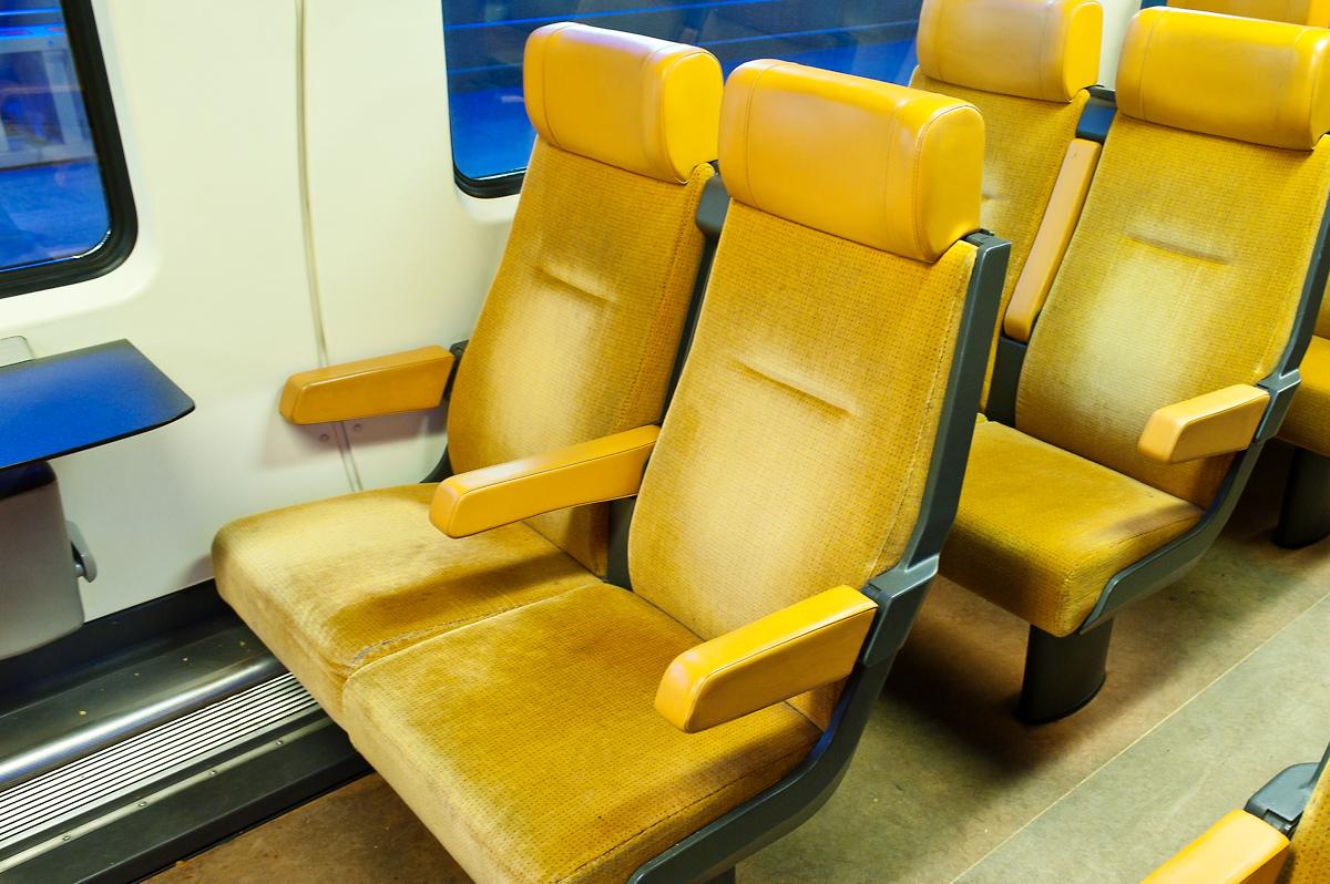 Комфортные сиденья в вагонах