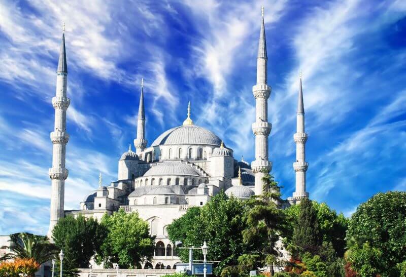 Фото: Голубая мечеть в Стамбуле