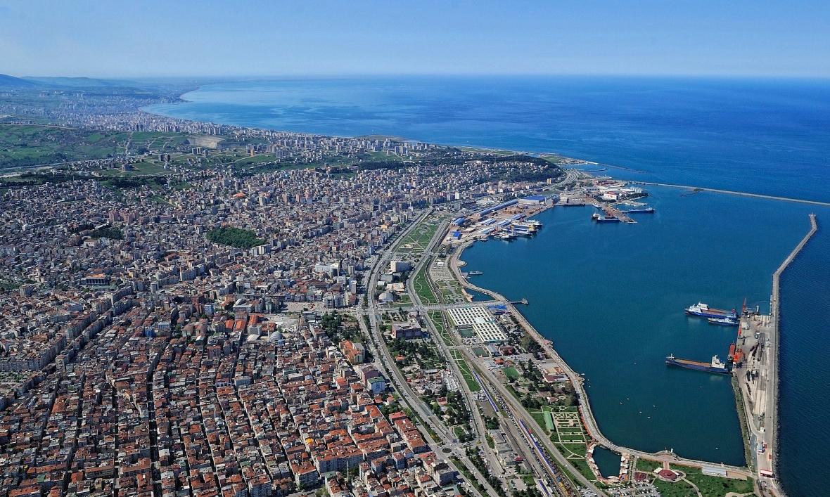 Города Турции - Самсун