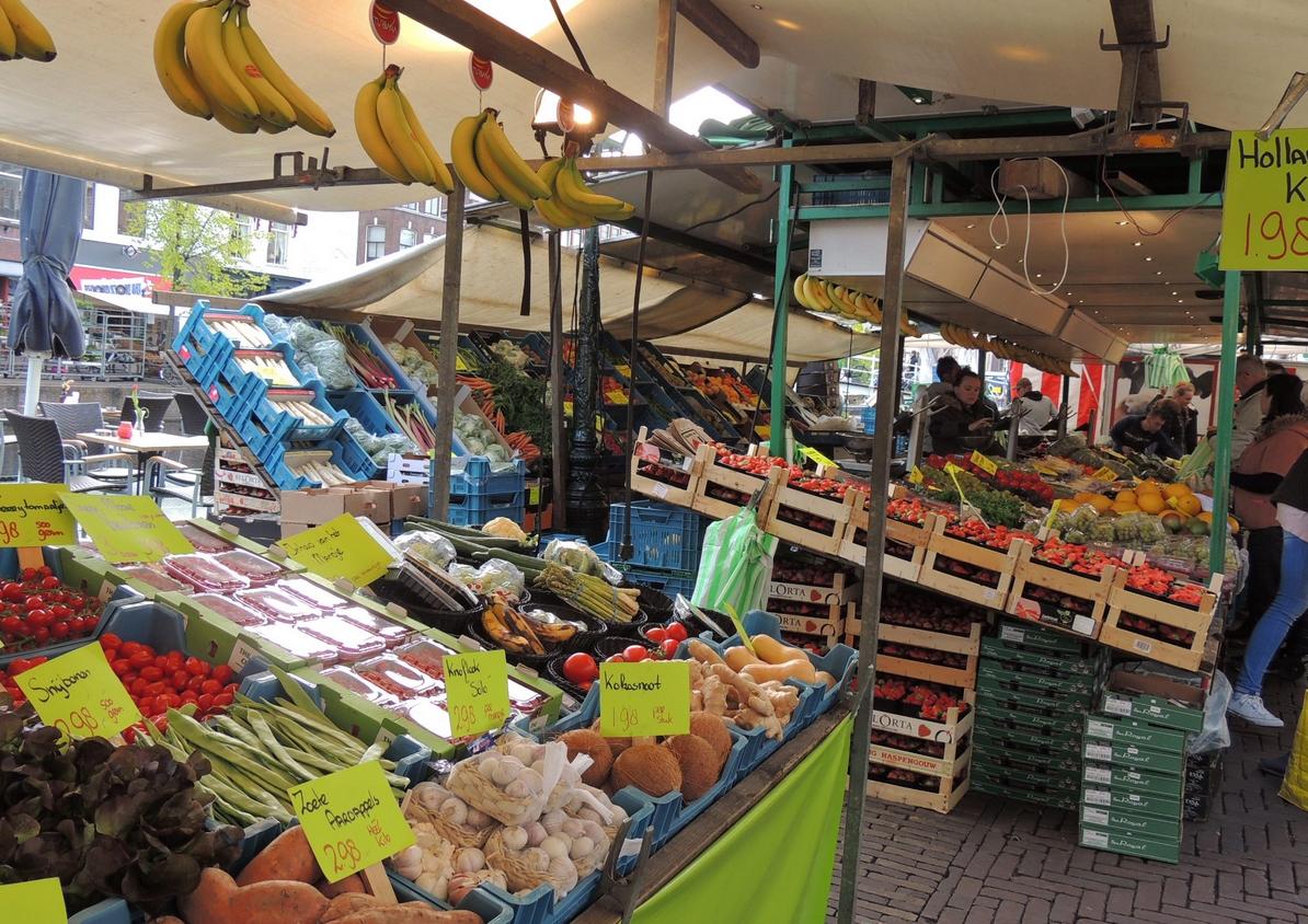 Городской рынок Лейдена