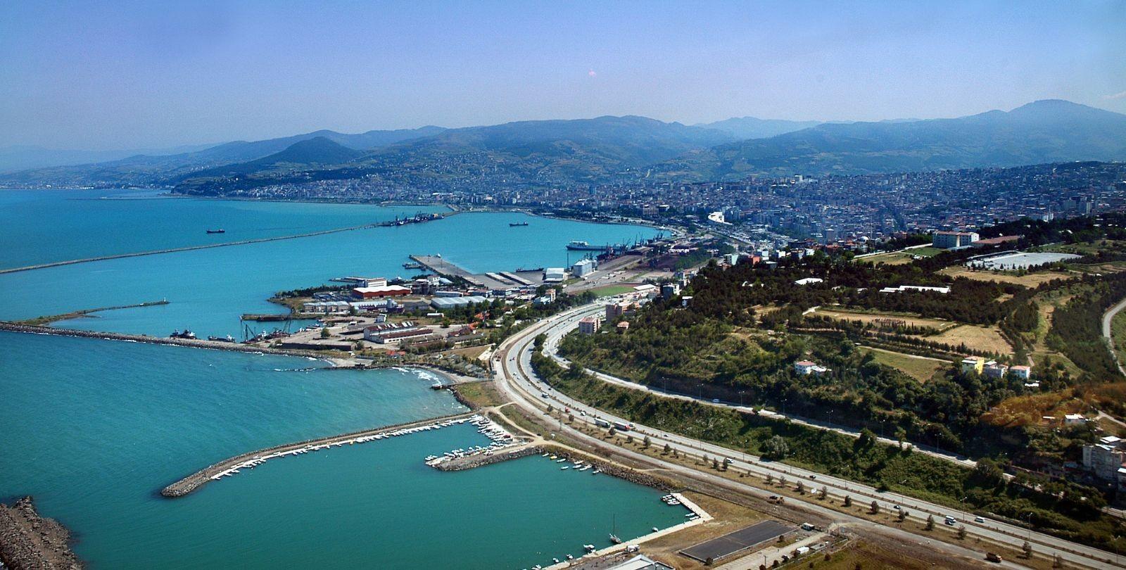 Город-порт Самсун