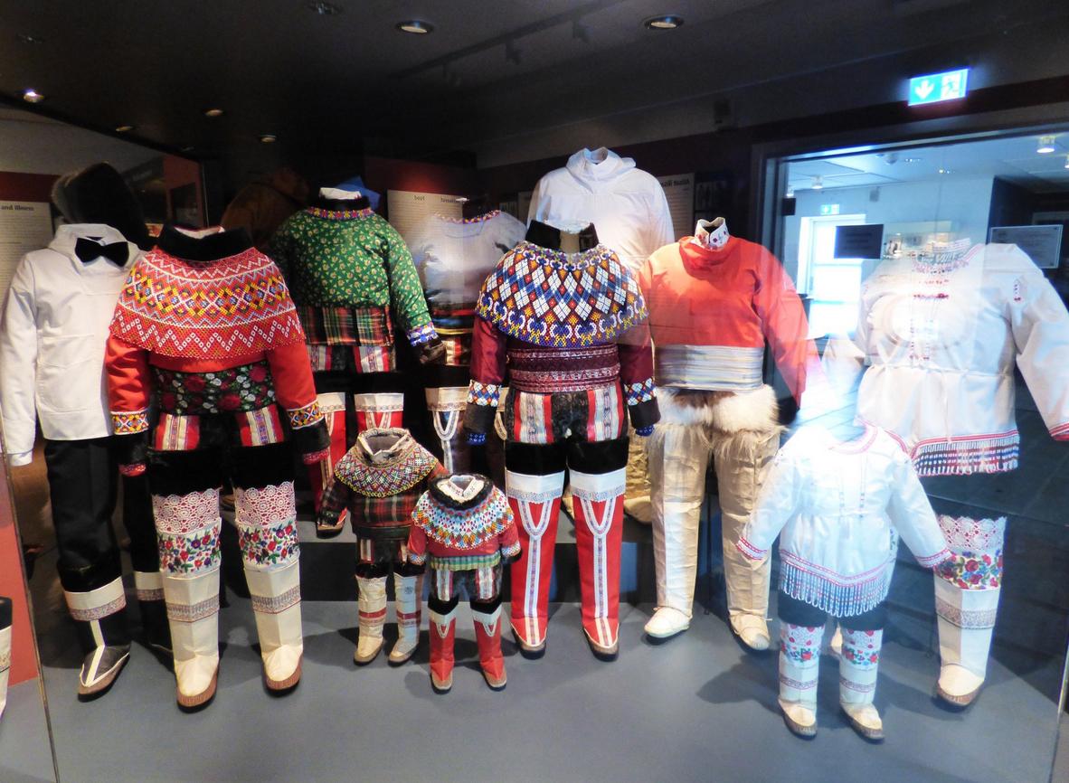Гренландские национальные костюмы