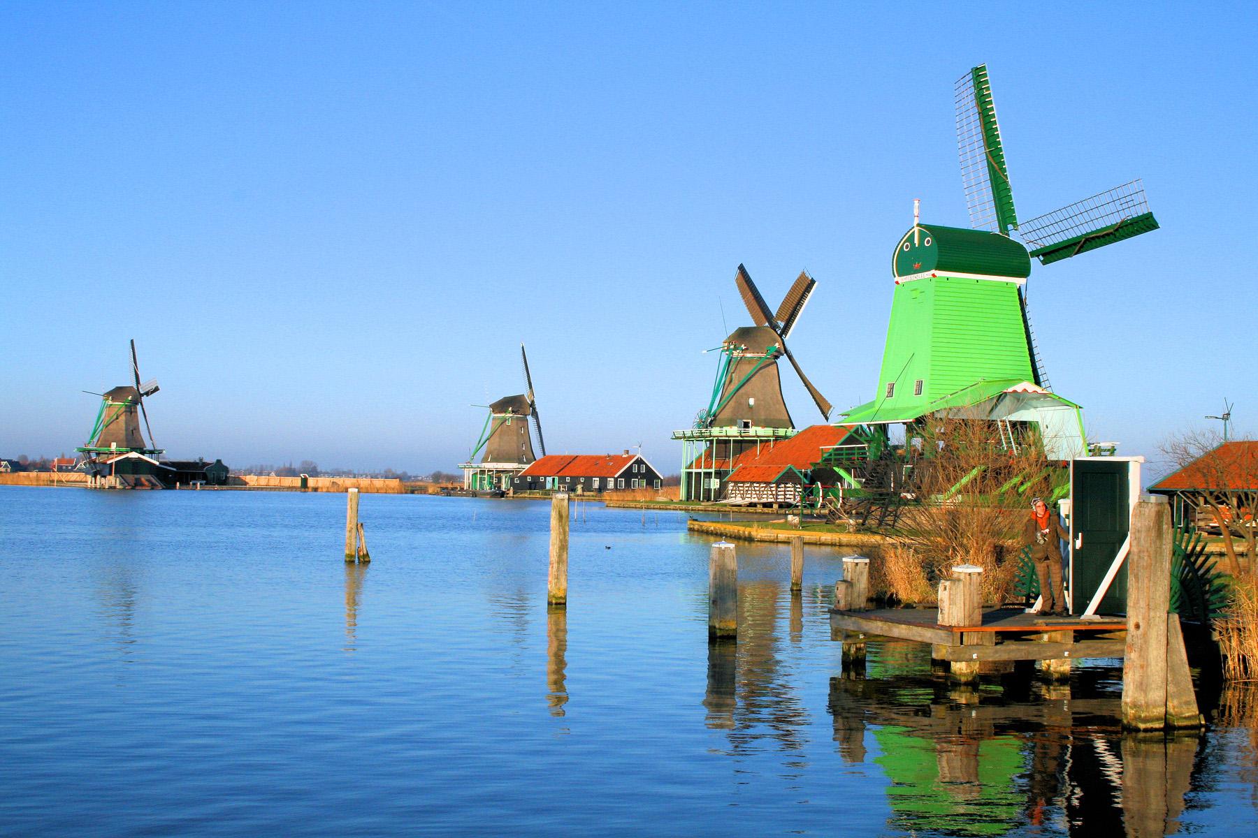 Поселение Заансе-Сханс в Нидерландах