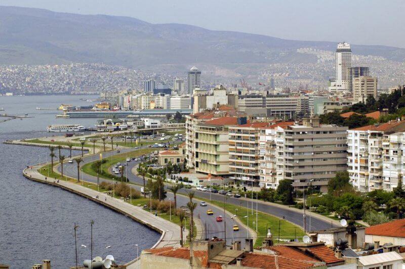 Фото: вид на Измир, турция