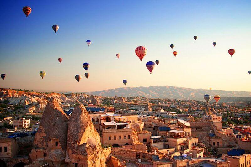 Достопримечательность Турции - Каппадокия