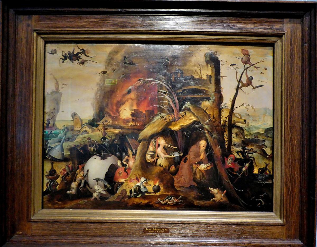 Картина в музее Франса Халса