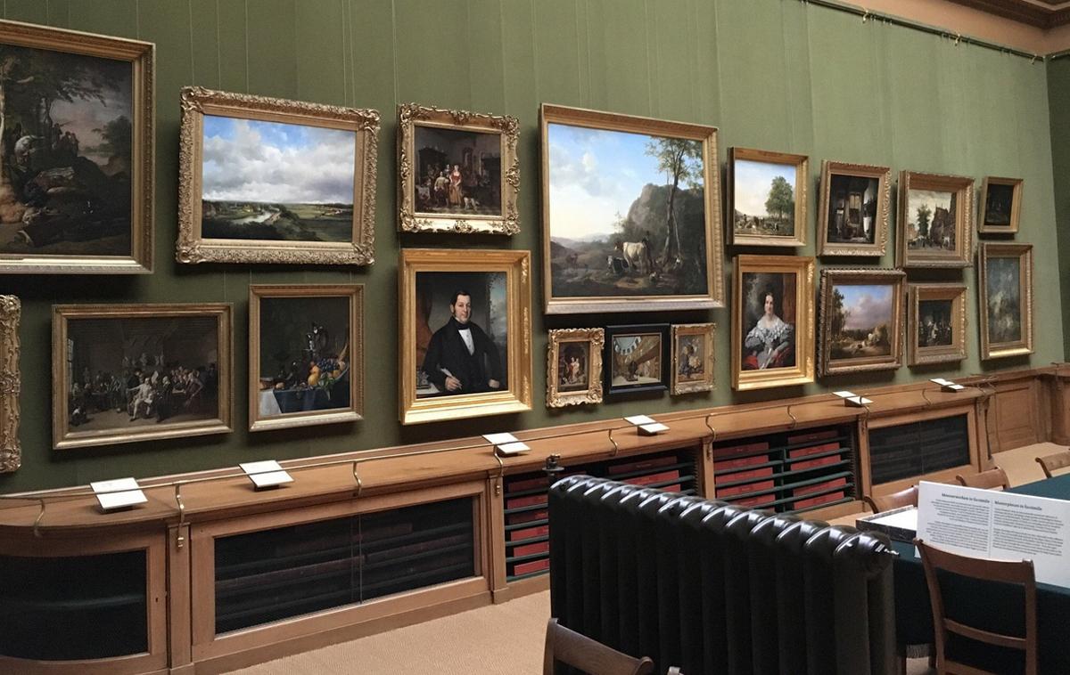 Картины в музее Тейлора