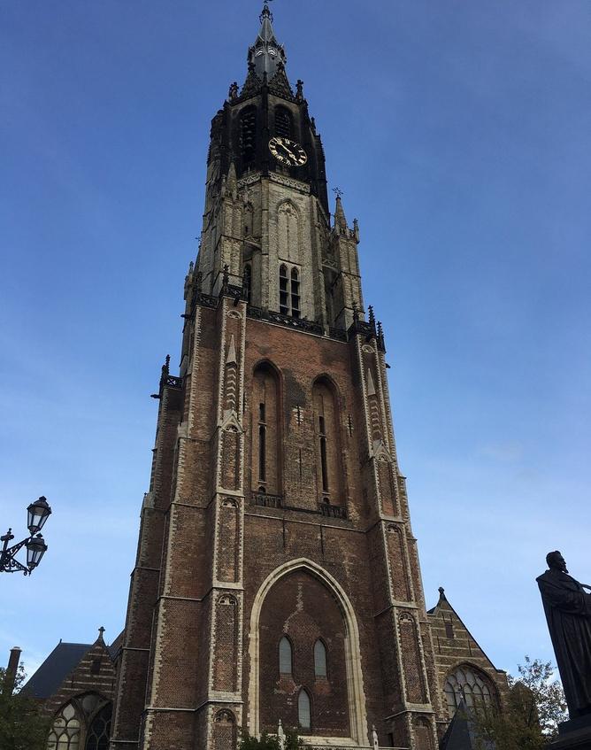 Колокольня церкви Nieuwe Kerk