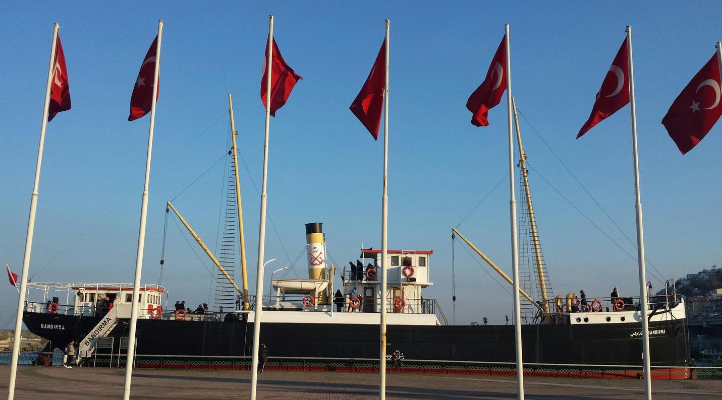 Корабль-музей Бандырма Вапуру