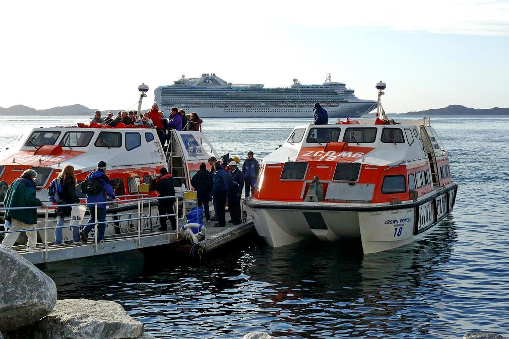 Круизный порт Nuuk