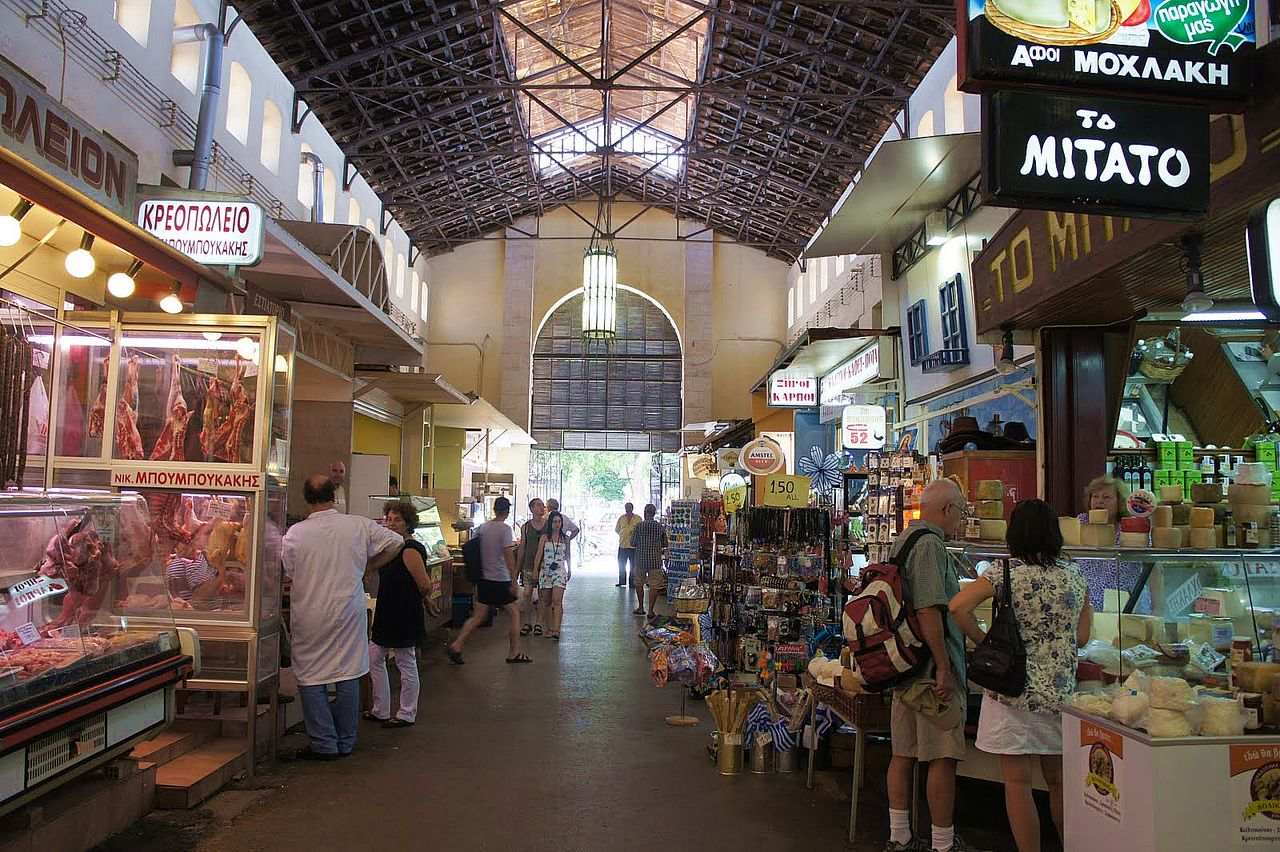 Крытый рынок Агора