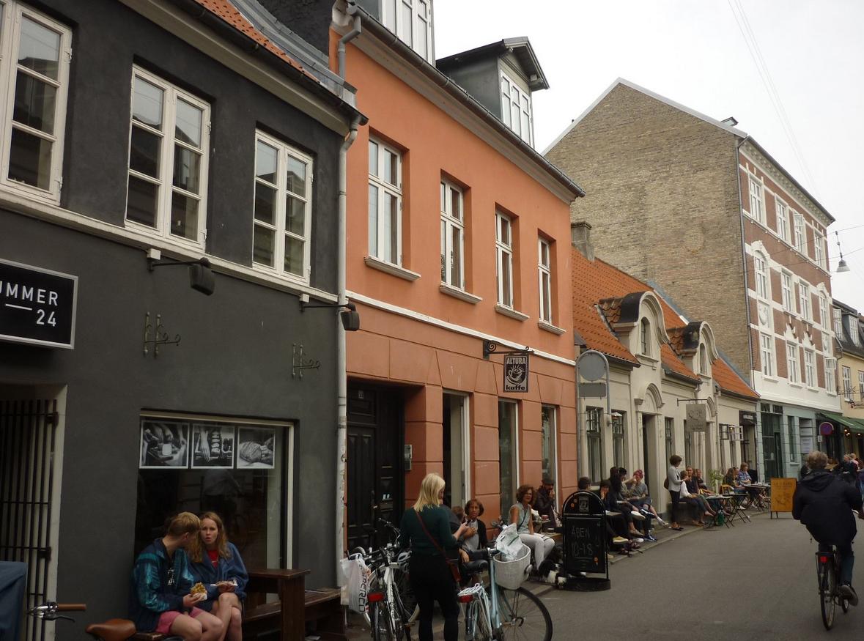 Латинский квартал в Орхус